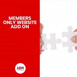 Members only website add on