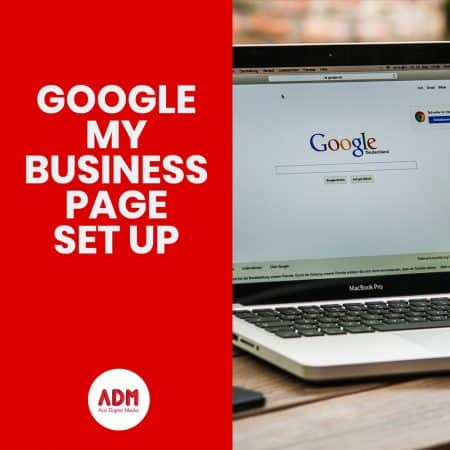 Google my business page set up