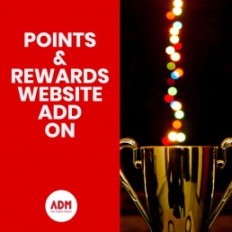 Points and rewards website add on