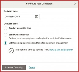 MailChimp_Scheduling