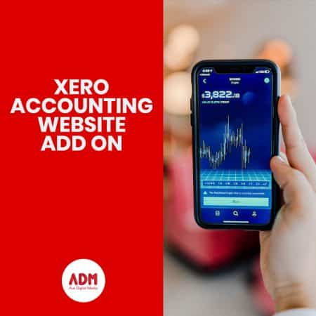 Xero accounting website add on