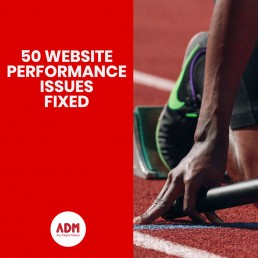 50 Website performance issues fixed