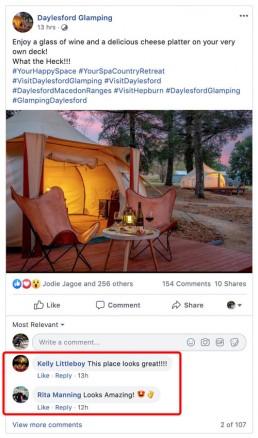 Daylesford-Glamping