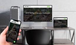 Envirocom website design