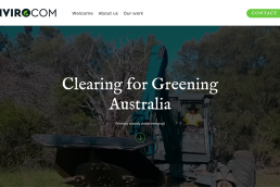 Envirocom website design