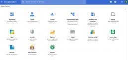 G Suite Admin dashboard