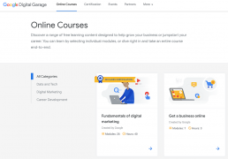 Google's Digital Garage Course