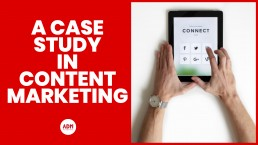 A case study in content marketing