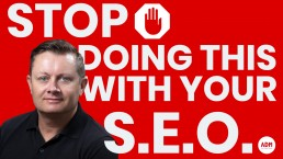 Stop Doing This With Your SEO