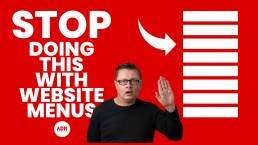 Stop doing this with your website menus